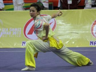 <b style='background-color:Yellow'>SEA Games 28</b>: Nhung guong mat ky vong cua Wushu Viet Nam