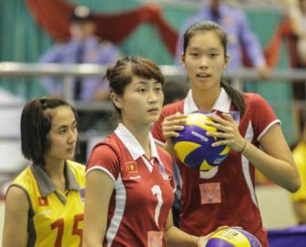 Hot girl <b style='background-color:Yellow'>Tran Thi Thao</b> lo hen SEA Games 28