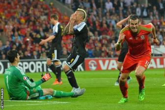 Video vong loai EURO 2016 bang B - Wales 1-0 Belgium