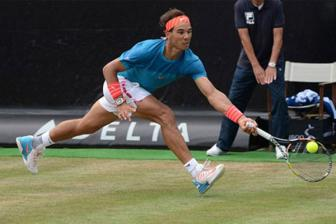 Video ban ket Mercedes Cup 2015 - Nadal vs Monfils
