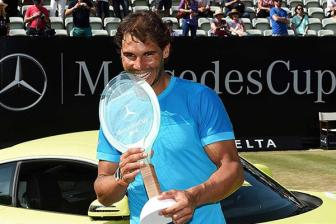 Video chung ket Mercedes Cup 2015 - Nadal vs Troicki