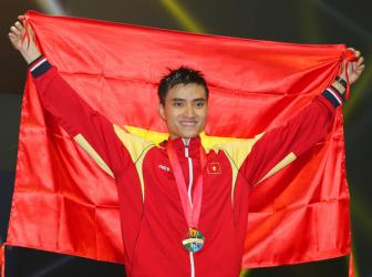 <b style='background-color:Yellow'>Doan The thao Viet Nam</b> dung thu 3 toan doan tai SEA Games 28