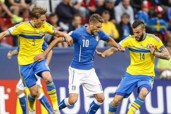 Video bang B VCK U21 chau Au - U21 Italy 1-2 U21 Sweden