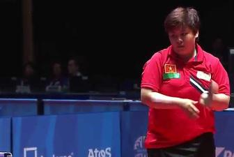 Clip Vong loai bong ban don nu SEA Games 28 - My Trang 3-0 Lee Rou You