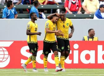 Bang B <b style='background-color:Yellow'>Gold Cup 2015</b>: Jamaica chiem ngoi dau, Costa Rica tiep tuc gay that vong
