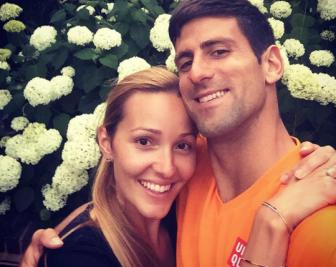 Novak Djokovic: 'Hay <b style='background-color:Yellow'>ket hon</b> va co em be'