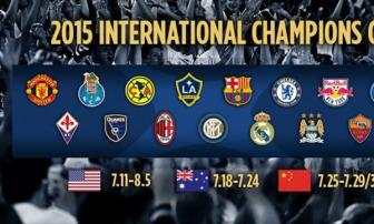 Nhung dieu can biet ve <b style='background-color:Yellow'>International Champions Cup</b> 2015