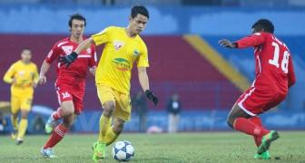 Cuoc dua giua cac chan sut noi tai <b style='background-color:Yellow'>Vleague</b>: Dinh Tung = Cong Vinh + Anh Duc + Quang Hai