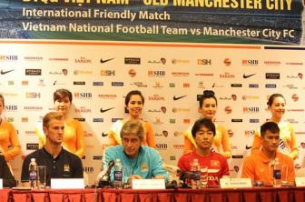 <b style='background-color:Yellow'>Le Cong Vinh</b>: 'Doi mat voi Man City kho khan, nhung chung toi se co cach'