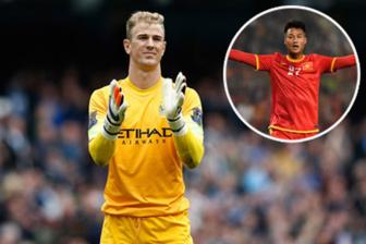 Thu mon Joe Hart cua Man City <b style='background-color:Yellow'>thach dau</b> Mac Hong Quan