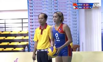 VTV Cup 2015: Philippines co cuoc loi nguoc dong kich tinh truoc DH Nam Kinh