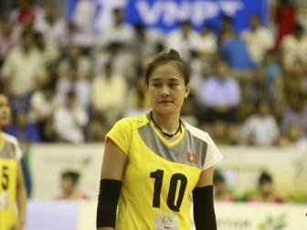 Hotgirl <b style='background-color:Yellow'>Nguyen Linh Chi</b> gianh danh hieu Hoa khoi VTV Cup 2015