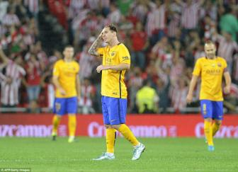 Athletic <b style='background-color:Yellow'>Bilbao</b> 4-0 Barcelona: Tan mọng an 6