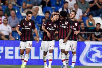 Video vong 3 Coppa Italia 2015/16 - AC Milan 2-0 Perugia