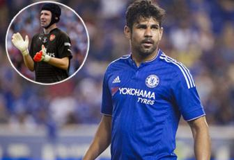 <b style='background-color:Yellow'>Diego Costa</b> e ngai Petr Cech
