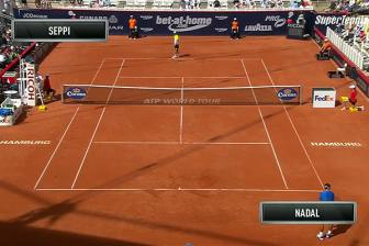 Video ban ket Hamburg open 2015 - Nadal vs Seppi
