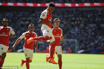 Video <b style='background-color:Yellow'>sieu cup Anh</b> - Arsenal 1-0 Chelsea