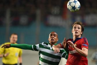Video luot ve play-off Champions League - CSKA Moscow 3-1 <b style='background-color:Yellow'>Sporting Lisbon</b>