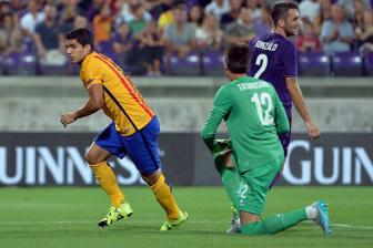 Video <b style='background-color:Yellow'>International Champion Cups 2015</b> - Fiorentina 2-1 Barcelona