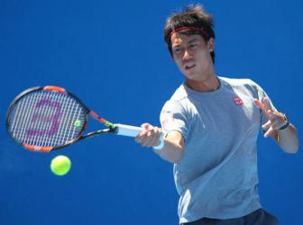 <b style='background-color:Yellow'>Nishikori</b> tu tin ha Djokovic tai Flushing Meadows