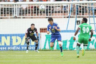 Video vong 20 V-league - <b style='background-color:Yellow'>Hoang Anh Gia Lai</b> 1-1 XSKT Can Tho