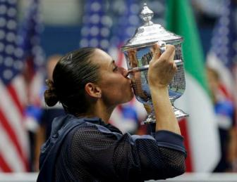 BXH <b style='background-color:Yellow'>tennis</b> 14/9: Tuyet voi Pennetta