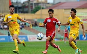 <b style='background-color:Yellow'>V-League 2015</b>: Con nhieu buc xuc