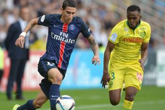 Video vong 8 <b style='background-color:Yellow'>Ligue 1</b> - Nantes 1-4 Paris Saint-Germain