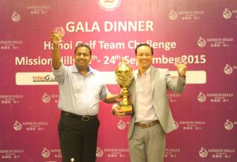 Golfer Phan Trung Phuong gianh Cup Hanoi Golf Team Challenge Mission Hills Haikou 2015