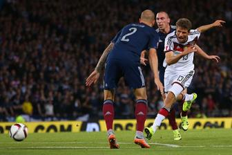 Video vong loai Euro 2016 - Scotland 2-3 Duc