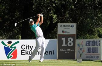 Jaco van Zyl leads after the BMW SA Open first-round as Ernie Els shoots one over par