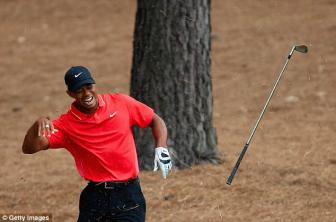 Tiger Woods is 40 this week and can barely walk properly... but in his prime he was the greatest of them all
