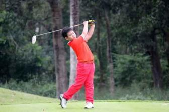 Vietnamese boy wins kids golf championship