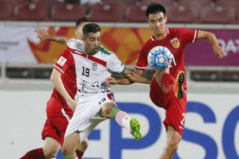 AFC U23 Championship - Group A: Iran 3-2 China