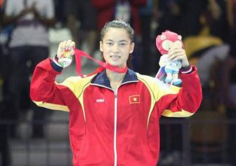 <b style='background-color:Yellow'>Boxing</b> nu chuan bi vong loai Olympic 2016 - Ky vong vao Le Thi Bang