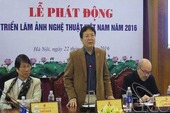 Phat dong 'Trien lam anh nghe thuat Viet Nam nam 2016'