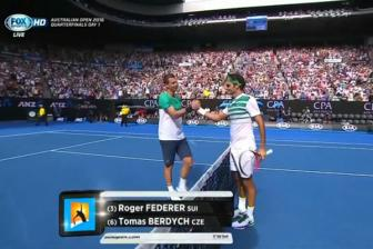 Video tu ket Australian Open 2016: Roger Federer vs <b style='background-color:Yellow'>Tomas Berdych</b>
