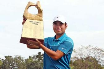 Miguel Tabuena win Philippine Open in Asia Tour