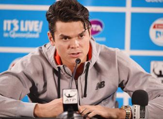 "<b style='background-color:Yellow'>Milos Raonic</b>: Chien dich ""giai gioi"""