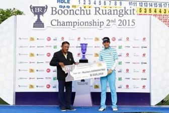 Phachara Khongwatmai win Boonchu Ruangkit Championship (Asian Development Tour)