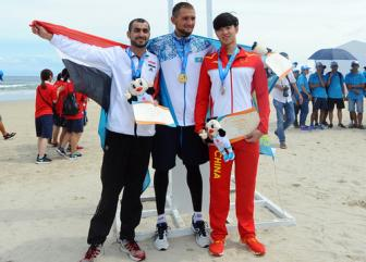 Athletes from Iraq and Syria show true Olympic spirit