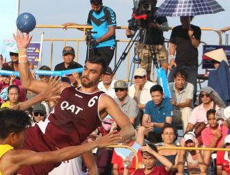 Beach Handball: Qatar defend reigning champion