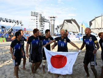 Beach soccer: Japan wins the championship title