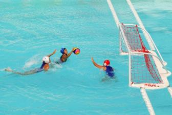 Beach Water Polo: Kazakhstan Temporarily Takes the Lead