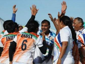 Indian women's kabaddi team defeat Thailand to clinch gold medal at Asian Beach Games