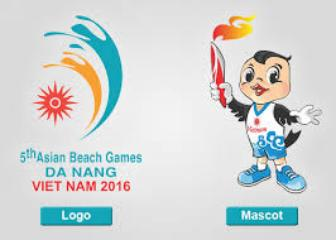 Logo and mascot for Asian beach games approved
