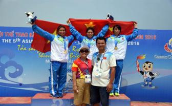 Vietnam firmly leads at the 5th Asian Beach Games