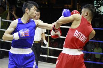 <b style='background-color:Yellow'>Giao huu</b> Boxing Viet - Nhat: Viet Nam gianh duoc 4 chien thang