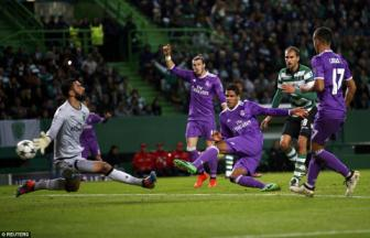 <b style='background-color:Yellow'>Sporting Lisbon</b> 1-2 Real Madrid: Dau an nguoi Phap