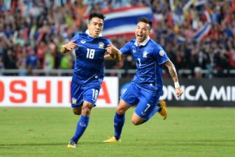 '<b style='background-color:Yellow'>Messi</b> Thai' canh giac truoc tran ban ket AFF Cup 2016 voi Myanmar